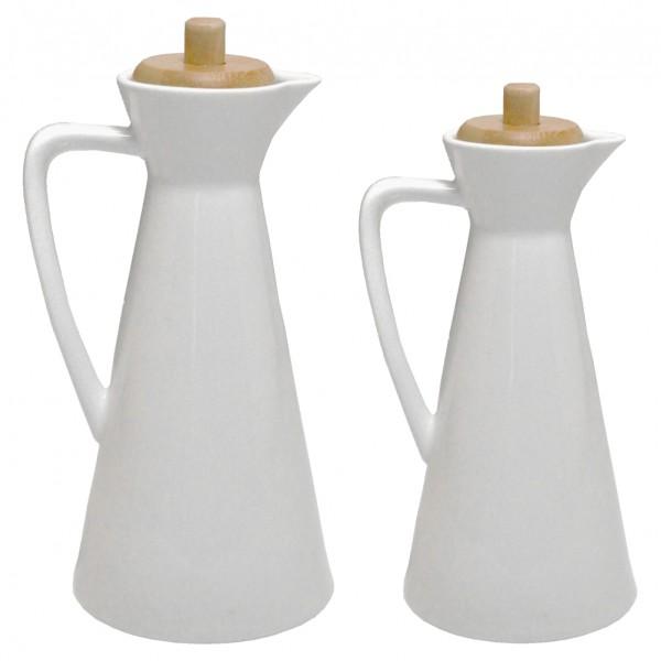 2'li Porselen Yağdanlık (500ml-700ml)
