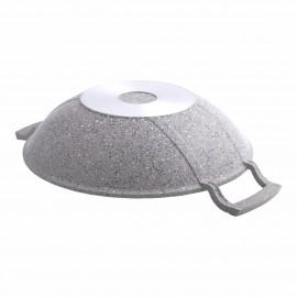 Karaca Dark Silver Bio Granit 30 cm Sac Tava