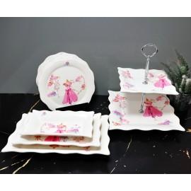 Miss Betty 10Pcs Porselen Set