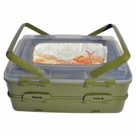 Takeaway Dublex Pasta ve Börek Taşıma Kabı