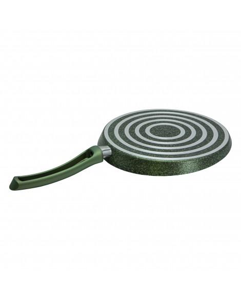 Yeşil Granit 28cm Krep Tava Seti
